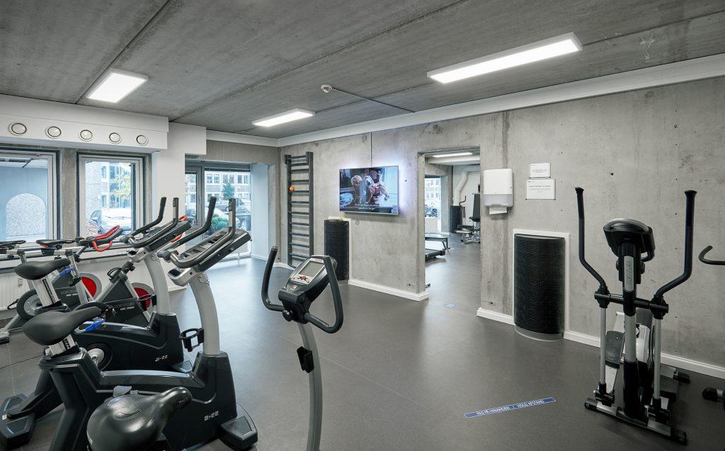 Fitnesscenter i Hjørnekontoret